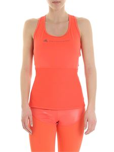 Adidas by Stella McCartney - Performance Essencials top in coral color
