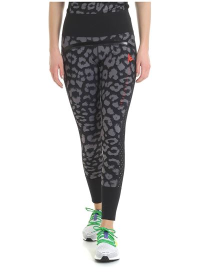 d5b63ea8c13c5 Adidas by Stella McCartney - Believe Comfort leggings in animalier print