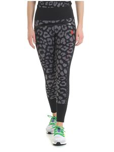 Adidas by Stella McCartney - Believe Comfort leggings in animalier print