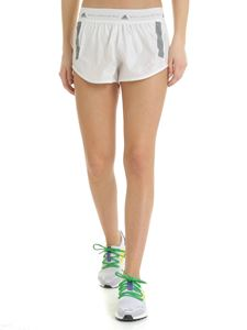 Adidas by Stella McCartney - Adidas sports shorts in white