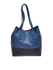 Michael Kors - Junie blue and black Tote bag