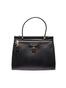 Michael Kors - Jasmine medium bag in black leather