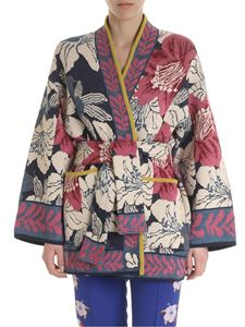 Etro - Etro cardigan in ivory color with floral motif