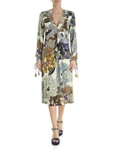 Etro - Etro dress with tiger floral pattern