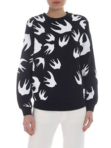 McQ Alexander Mcqueen - McQ sweatshirt with swallows