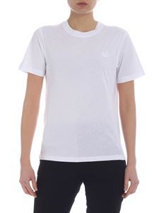 McQ Alexander Mcqueen - McQ t-shirt in white with swallow