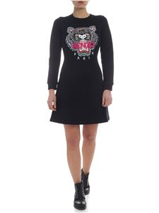Kenzo - Kenzo dress in black with tiger embroidery