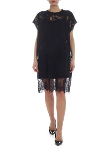McQ Alexander Mcqueen - McQ dress in black with lace inserts
