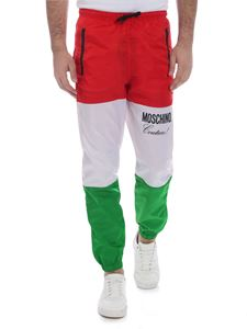 Moschino - Moschino tricolor trousers