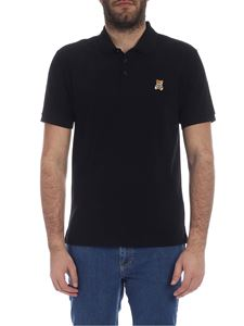Moschino - Moschino Teddy Bear polo in black