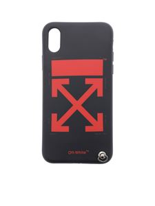 Off-White - Black and red Cover Arrow for iPhone X