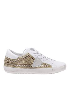 Philippe Model - Paris L sneakers in white leather