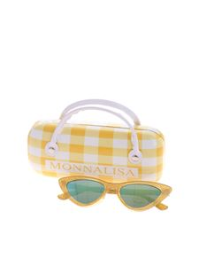 Monnalisa - Glittery yellow sunglasses