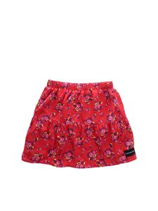 Calvin Klein Jeans - Red CKJ skirt with floral pattern