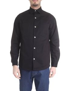 Ribbon Clothing - Black japanese denim shirt