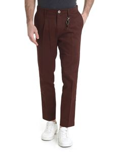 Ribbon Clothing - Pantalone marrone Ribbon