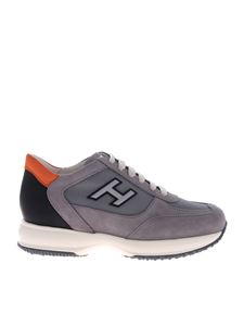 Hogan - Interactive H gray sneakers
