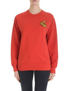 Vivienne Westwood Anglomania - Red sweatshirt with Arm & Cutlass logo