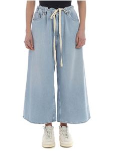 MM6 by Maison Martin Margiela - Light blue oversize palazzo jeans