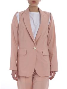 MM6 by Maison Martin Margiela - Pink jacket with peaked lapels