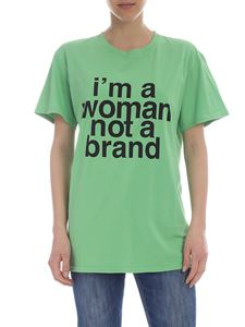 Erika Cavallini - I'm A Woman Not A Brand t-shirt in green
