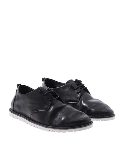 Marsèll - Sancrispa black derby shoes