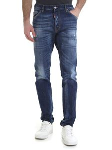 Dsquared2 -  Cool Guy 5-pocket jeans in blue