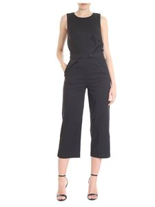 Patrizia Pepe - Black jumpsuit with wide trousers