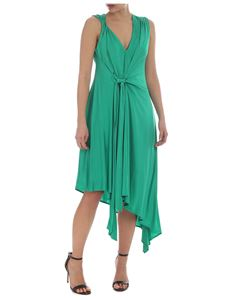 Pinko - Aylin emerald green sleeveless dress