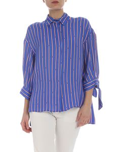 Pinko - Facile shirt with Regimental print