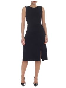 Patrizia Pepe - Black dress with curled detail