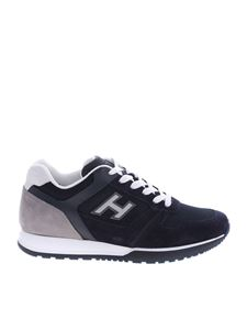Hogan - Blue and grey H321 sneakers