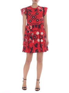 Red Valentino - Red dress with decorative prints