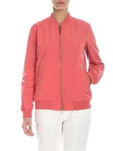 Woolrich - Charlotte salmon pink jacket