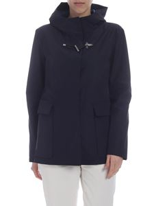 Fay - Blue Fay hooded jacket