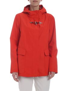 Fay - Orange Fay hooded jacket