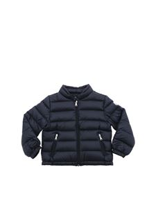 Moncler Jr - Acorus down jacket in dark blue