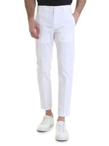 Dondup - Alfredo trousers in white