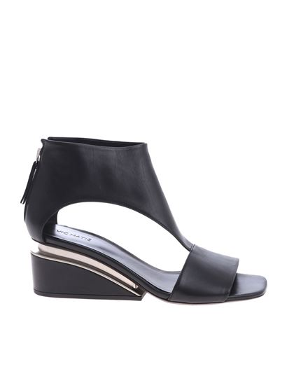 0b3f66217d8c Vic Matiè Spring Summer 2019 vic matie black sandals - 1U7484D ...