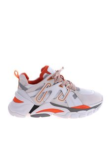 Ash - Orange and white Flash sneakers