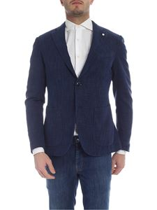 L.B.M. 1911 - Dark blue two buttons jacket