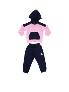 Adidas - Blue and pink Fitted jumpsuit
