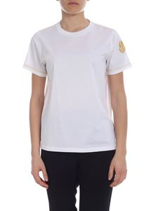 Moncler - Moncler white t-shirt with logo