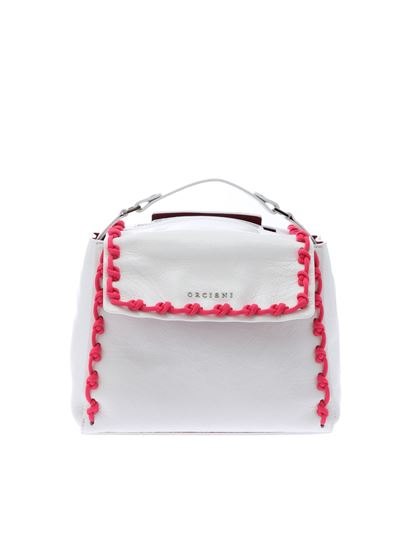Orciani - Sveva Crash shoulder bag in white