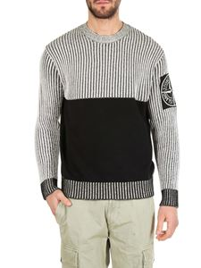 Stone Island - Melange two-tone shaved pullover