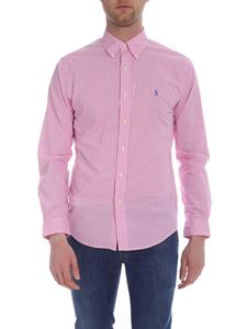Ralph Lauren - White and pink checked shirt