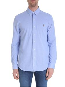 Ralph Lauren - Blue and white oxford shirt