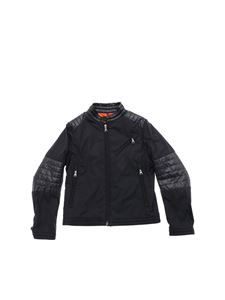 Moncler Jr - Moho jacket in black technical fabric