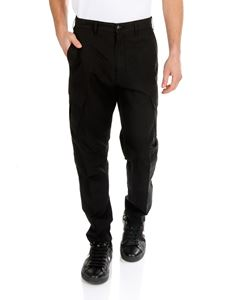 Stone Island - Shadow Project cargo trousers in black