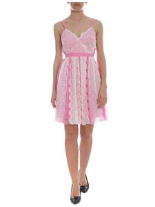 Pinko Uniqueness - Balletto dress in pink and white